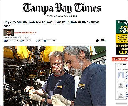 El artículo en el Tampa Bay News
