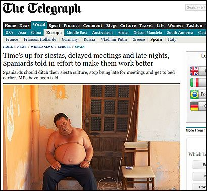 La foto original publicada por The Telegraph