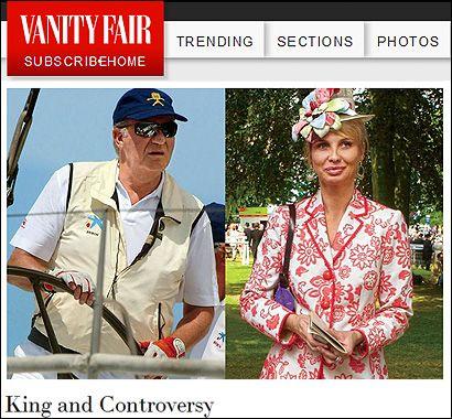 El artículo de Vanity Fair
