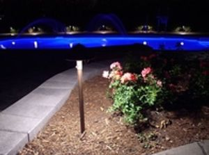 Pool Deck Lights