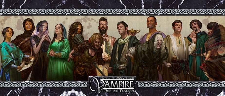 Vampire : L'âge des ténèbres écran (20ème anniversaire)