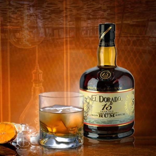 Rum El Dorado 15 years 43%