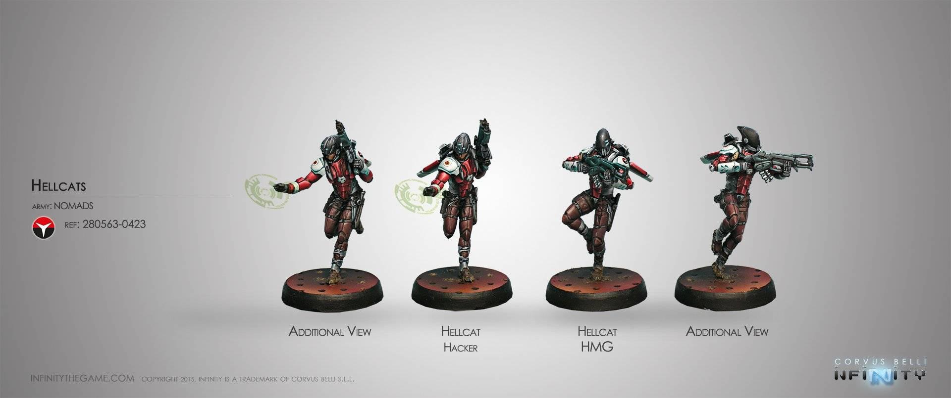 inf - nomads - hellcats (HMG/hacker)