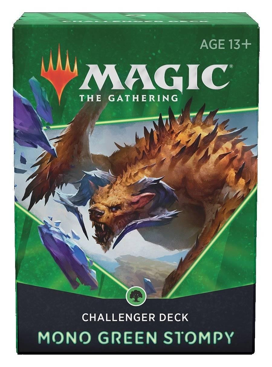Magic - Challenger Deck - Piétinement Mono-vert