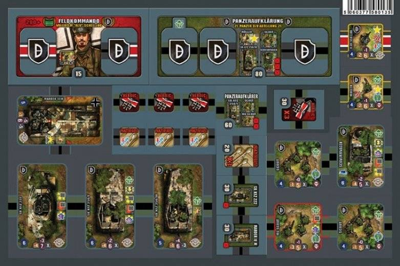 Heroes of Normandie - GE German Reinforcement x3