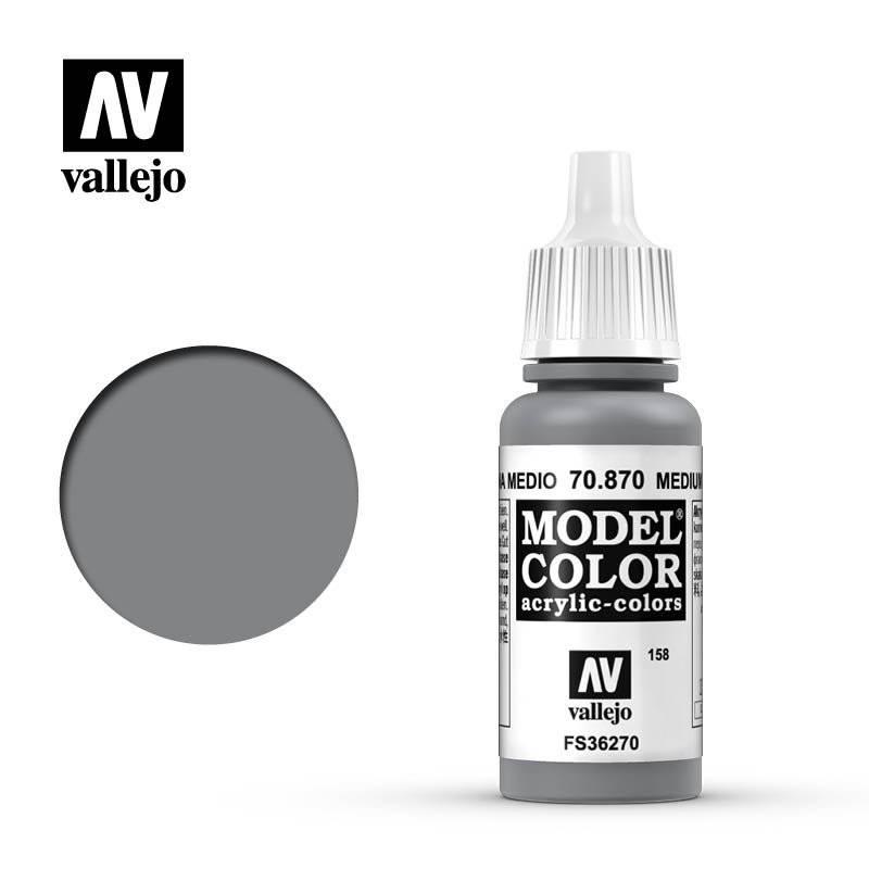 Model color - Medium sea grey