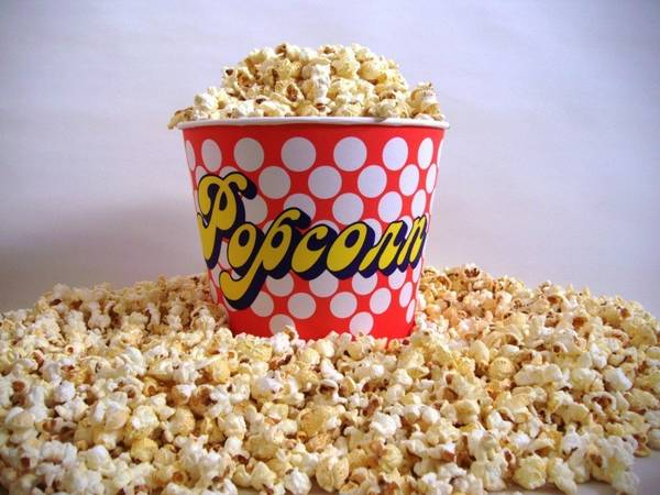 Grosses popcorn