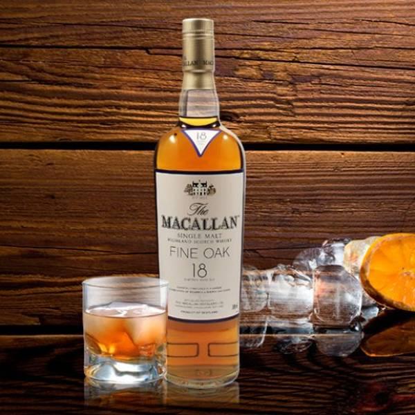 Single Malt Macallan Fine-Oak 18 years