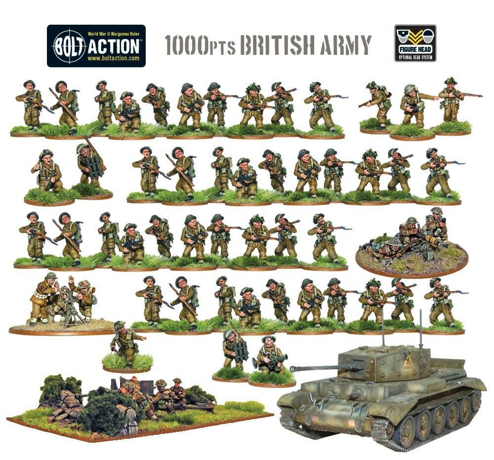 BA - British army starter set