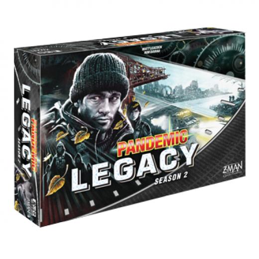 Pandemic legacy - saison 2 (noir)