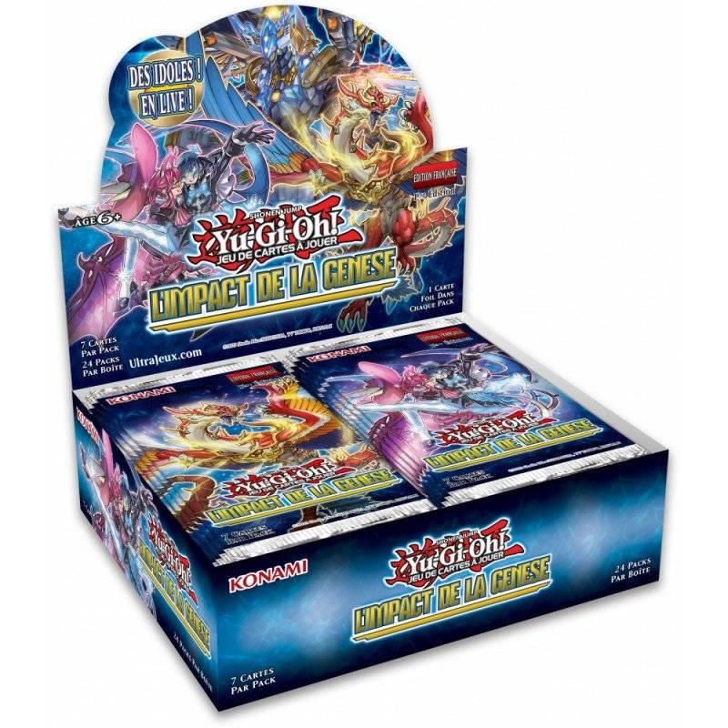 Yu-Gi-Oh! L'impact de la Genèse (Boîte de 24 boosters)
