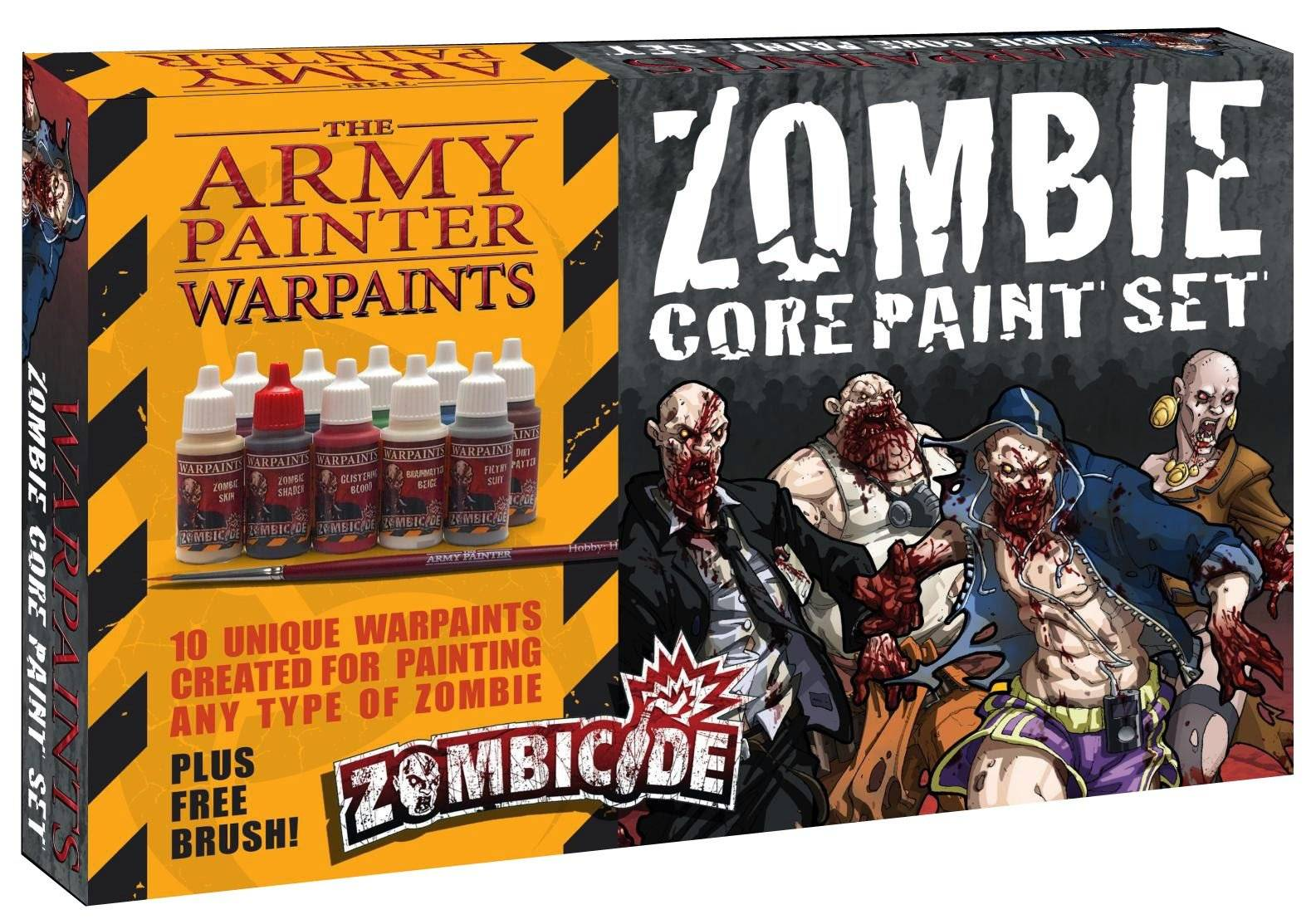 AP - Zombie core paint set (zombicide)
