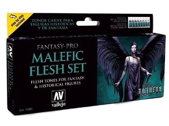 Vallejo - Malefic Flesh Set
