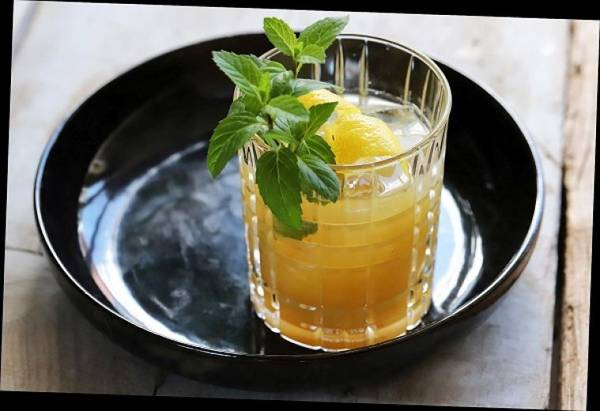 Bourbon Marmelade Smash