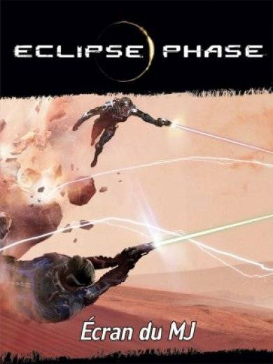 Eclipse Phase : Écran du MJ