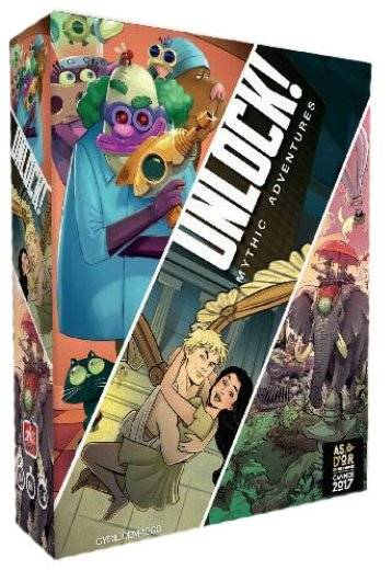 Unlock! 8 : Mythic Adventures (VF)