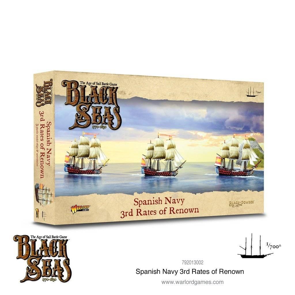 Black seas : Spanish Navy 3rd rates of renown