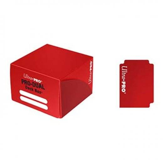 Pro-dual deck box - red
