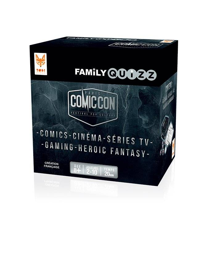Family Quizz : Comic con