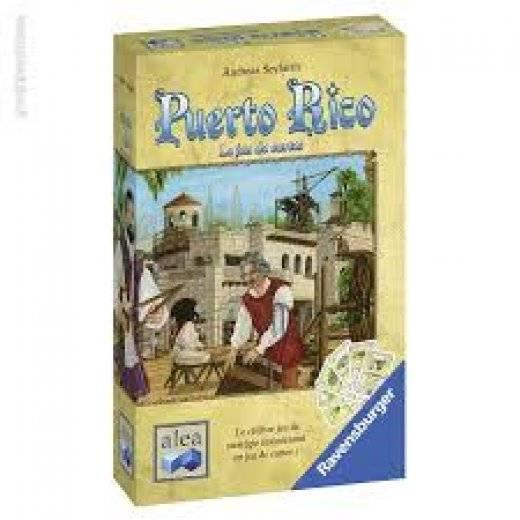 Puerto Rico : le jeux de cartes