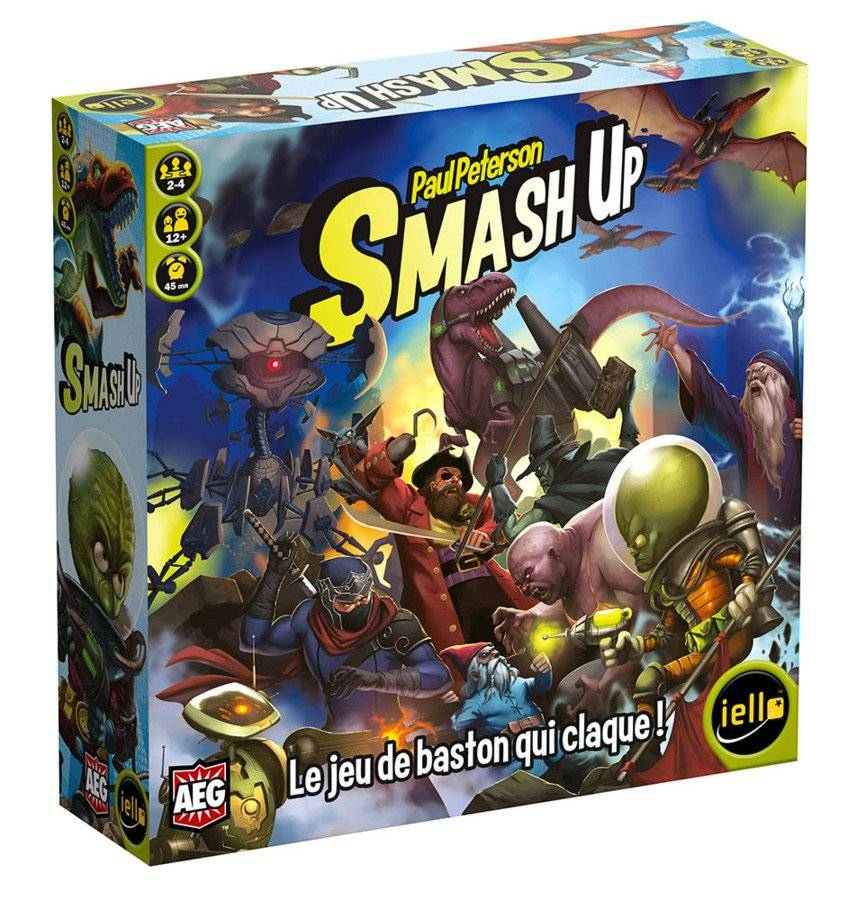 Smash Up - Monstres Sacrés