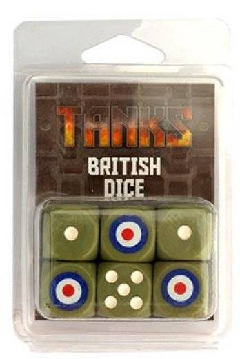 Tanks - British dice