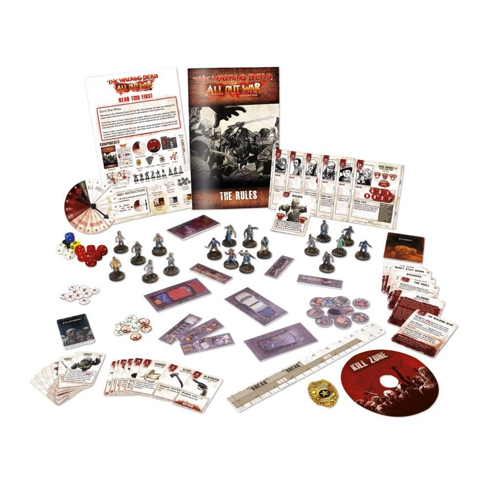 The Walking Dead All Out War - core game (en)