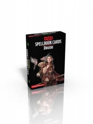 D&D - Spellbook Cards Druide (fr)