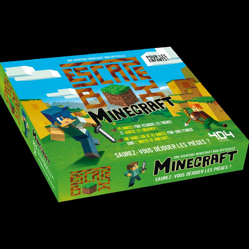 Escape Box : Minecraft (enfants)