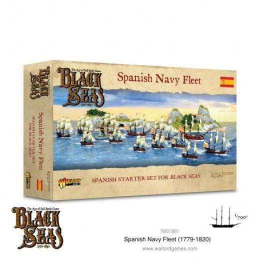 Black seas : Spanish Navy Fleet