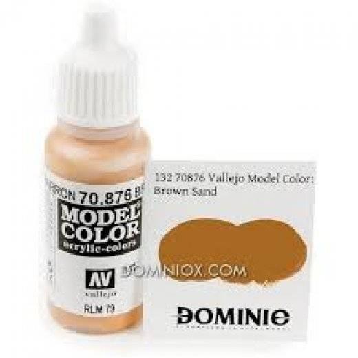 Model color - Brown sand