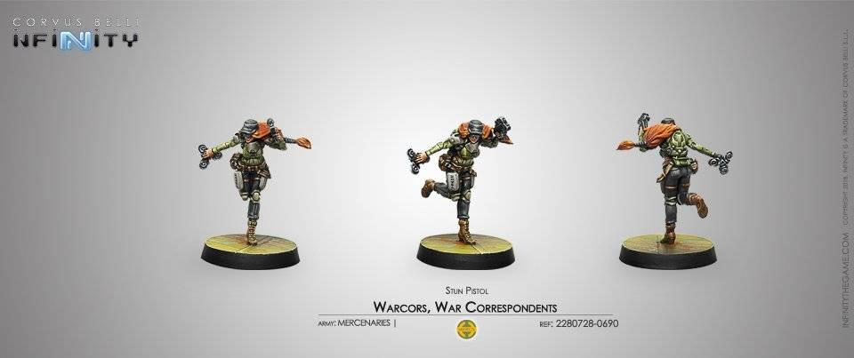 Inf - Mercenaries - warcors (stun pistol)