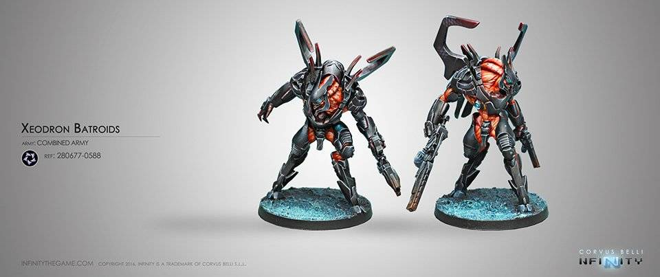 INF - Combined Army - Xeodron Batroids