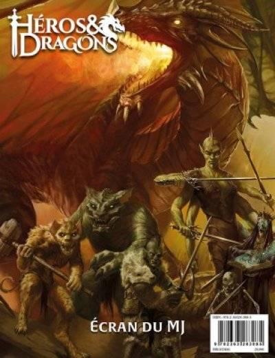 Héros & Dragons : Ecran du MJ