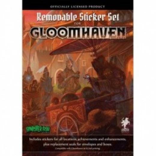 Gloomhaven - Removable Sticker Set