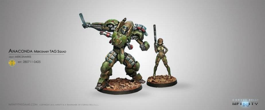 INF - Mercenaries - Anaconda
