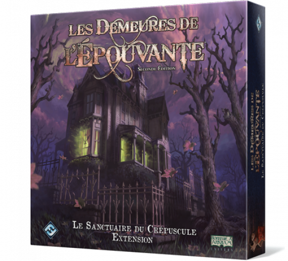 Demeures de l'Epouvante 2e éd. :  Le sanctuaire du crépuscule