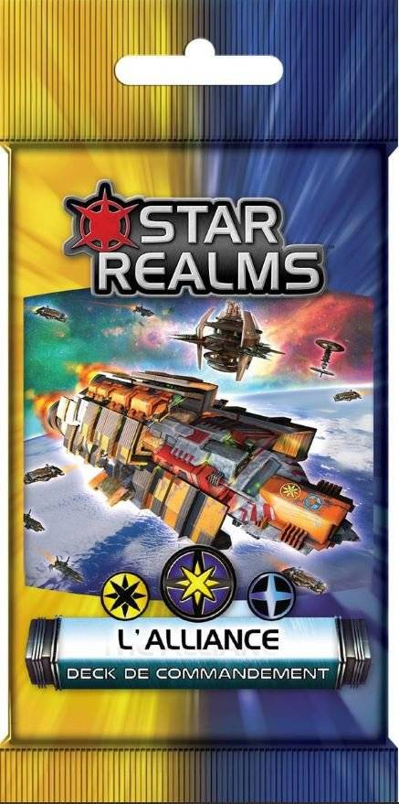 Star Realms - commandement - L'Alliance