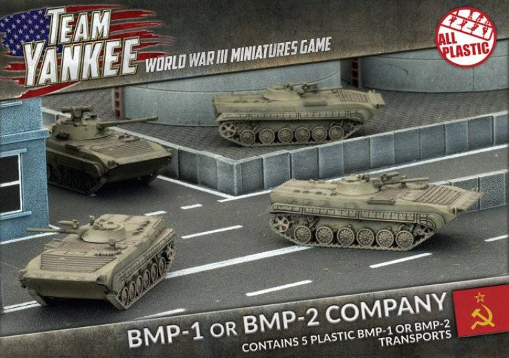 FoW - TY - USSR - BMP-1 or BMP-2 Company