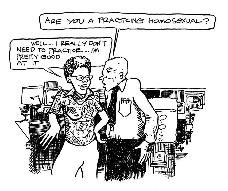 NO STRAIGHT LINES : THE RISE OF QUEER COMICS