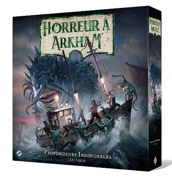 Horreur à Arkham jeu de plateau 3e édition : Profondeurs Insondables