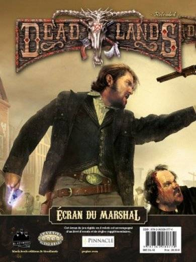Deadlands: écran du Marshall