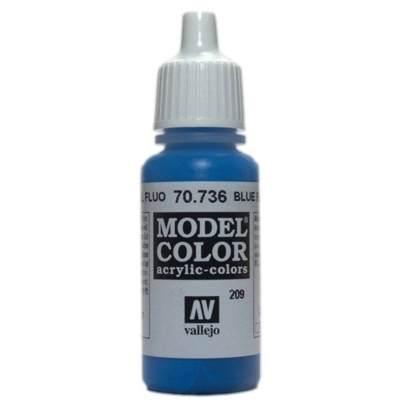 Model Color - Blue Fluo