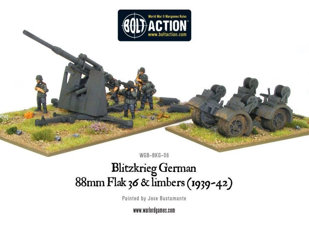 BA - German - Blietzkrieg 88mm Flak 36