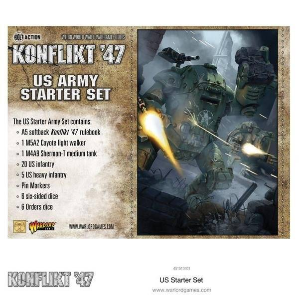 Konflikt '47 : US army starter set