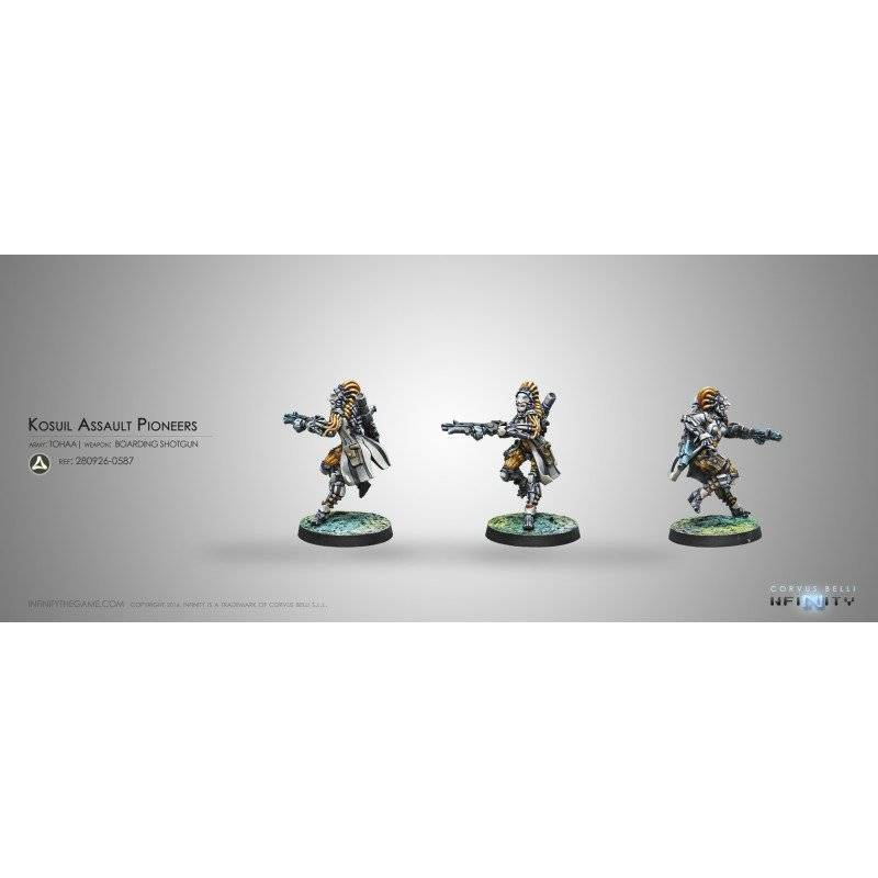 Inf - Tohaa - Kosuil Assault Pioneers (Boarding shotgun)