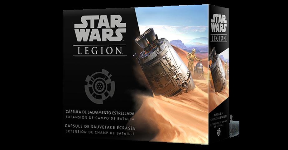 SW Légion : Capsule de sauvetage écrasée