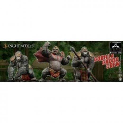Batman miniature game - Gorilla grodd crew