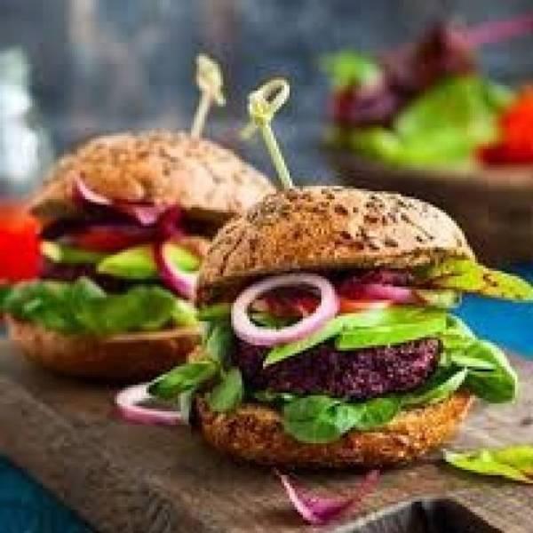 Quinoa Burger (veg.)