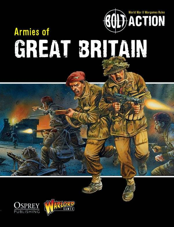 BA - Armies of Great Britain rulebook